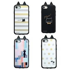 アイジョイiPhone8KUSUKUSUネコシリーズ4種
